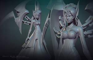 Ghost Bride Morgana sculpt by MissMaddyTaylor