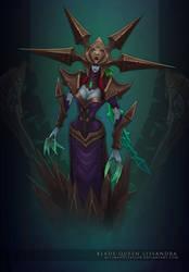 LoL: Blade Queen Lissandra by MissMaddyTaylor