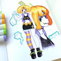 Day 24 - Pumpkin by MissMaddyTaylor