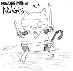 Howling Mad Neko-Nanako by titoewok