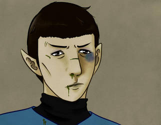 Star trek- Vulcan Blood by Arei-chan