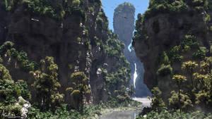 Rock Gorge2 by AronKamo