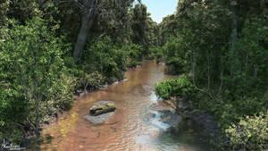 Gold Creek by AronKamo