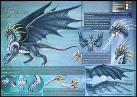 Electric Dragon Ref Sheet by DrakainaQueen