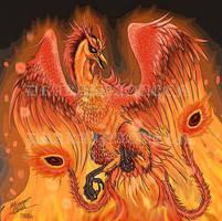 Phoenix Of Hope by DrakainaQueen