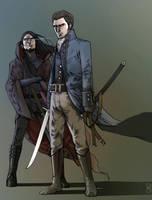 Deudermont and Robillard by Gido
