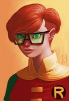The Dark Knight Returns: Carrie Kelley by Gido