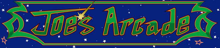 Galaga Themed Bar-top Arcade - Marquee by Sonic840