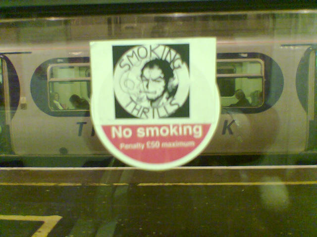 Smoking Thrills Vandalism by mazzie