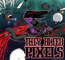 They bleed pixels fan art by seamusvaughan