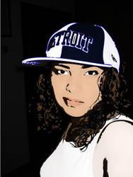 Me in Illustrator by dvsbabygurl