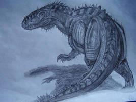 Metriacanthosaurus by Teratophoneus