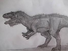 Saurophaganax by Teratophoneus