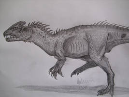 Zupaysaurus longer legs by Teratophoneus