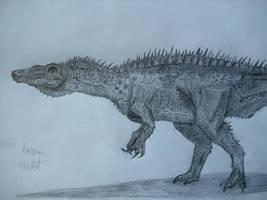 Suchosaurus by Teratophoneus
