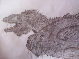 Carcharodontosaurus by Teratophoneus