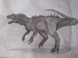 Bahariasaurus ingens by Teratophoneus
