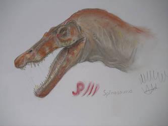 Jurassic Park Spinosaurus by Teratophoneus