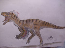 JP-Expanded   Deinonychus by Teratophoneus