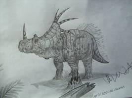 Styracosaurus albertensis by Teratophoneus