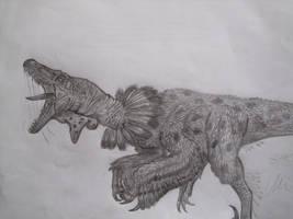 Velociraptor mongoliensis by Teratophoneus