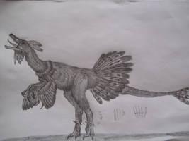 Unquillosaurus ceiballii by Teratophoneus