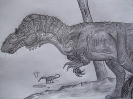 Torvosaurus tanneri by Teratophoneus