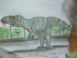 JP-Expanded  Torvosaurus by Teratophoneus