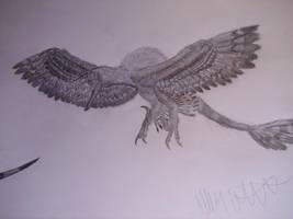 Sinornithosaurus milleni by Teratophoneus