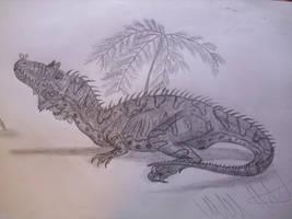 Embasaurus minax by Teratophoneus