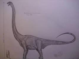 Hudiesaurus sinojapanorum by Teratophoneus
