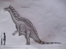 Amargasaurus cazaui by Teratophoneus