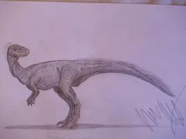 Xiaosaurus dashanpensis by Teratophoneus