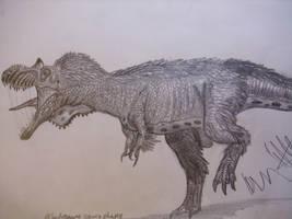 Albertosaurus speeddrawing by Teratophoneus