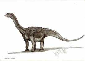 Antarctic titanosaurid by Teratophoneus