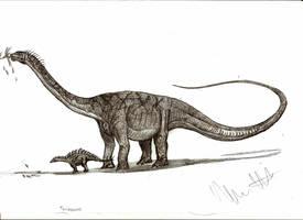 Turiasaurus riodevensis by Teratophoneus