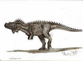 Dandakosaurus indicus by Teratophoneus