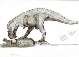Xenotarsosaurus bonapartei by Teratophoneus