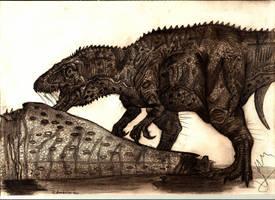 Edmarka rex by Teratophoneus