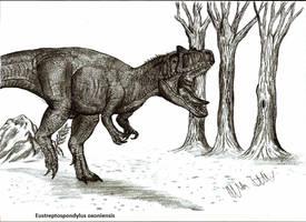 Eustreptospondylus oxoniensis by Teratophoneus