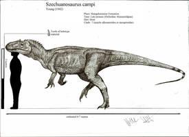 Szechuanosaurus campi by Teratophoneus