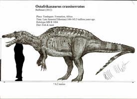Ostafrikasaurus crassiseratus by Teratophoneus