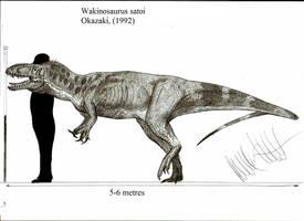 Wakinosaurus satoi by Teratophoneus