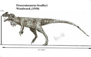 Proceratosaurus bradleyi by Teratophoneus
