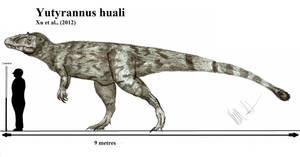 Yutyrannus huali by Teratophoneus