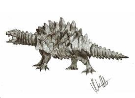 Kaiju revised: Kameba by Teratophoneus
