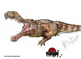 JP-expanded Sarcosuchus by Teratophoneus