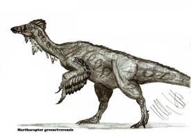 Martharaptor greenriverensis by Teratophoneus