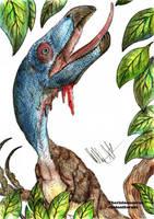 Therizinosaurus cheloniformis by Teratophoneus