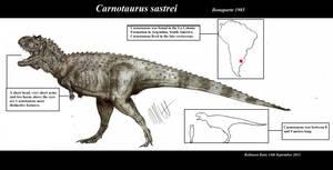 Carnotaurus sastrei by Teratophoneus